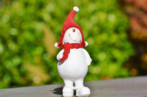 Snow Man, Snow, Eismann, Figure, Winter, Cold, White