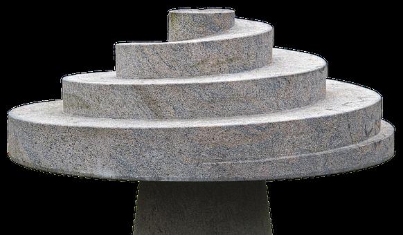 Sculpture, Snail, Spiral, Helix, Stone Art, Art