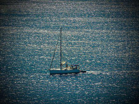Boot, Sailing Boat, Water, Sport, Wind, Freedom, Ship