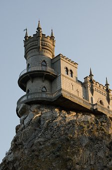 Swallow's Nest, Crimea, Rock, Black Sea, Castle, Palace