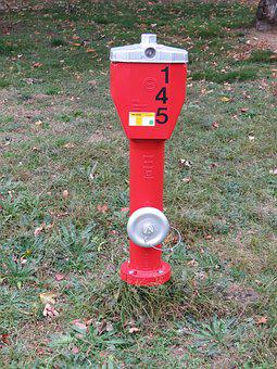 Hydrant, Red, Metal, Fire, Water, Fire Delete