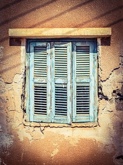 Window, Wooden, Old, Weathered, Damaged, Decay