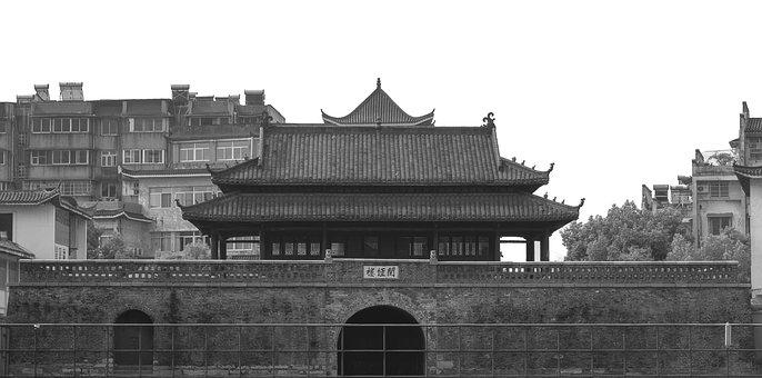 Ancient Architecture, Anqing A, Watchtower