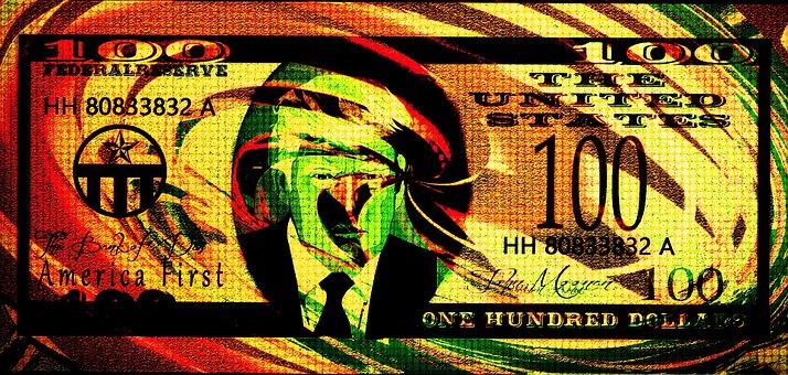 Donald Trump, Pop Art, Edit, Dollar, Money, Trump