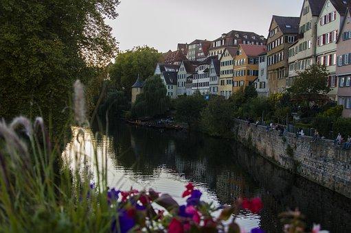 Tübingen, Neckar, River, Historically, Southern Germany
