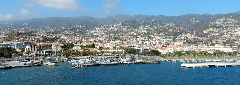 Funchal, Madere, Ile, City, Port