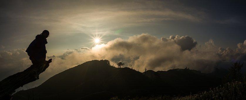 Sunset, Clouds, Nature, Sky, Landscape, Twilight