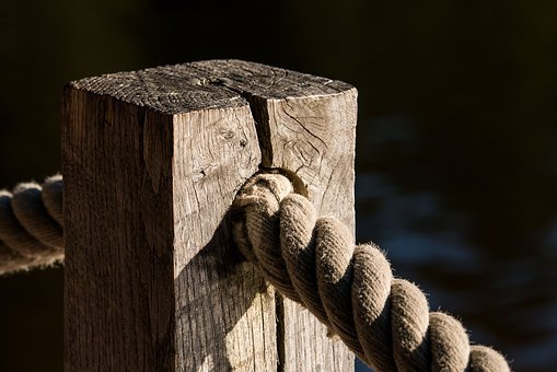 Dew, Rope, Lake, View, Knot, Leash, Boot, Water