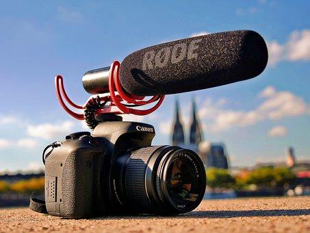 Camera, Film, Lens, Photograph, Microphone, Recording
