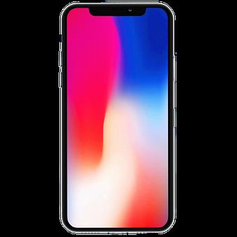 Iphone, Iphone X, Mockup, Mobile, Display, Smartphone