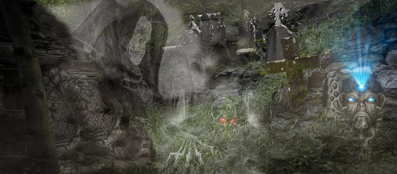 Spooky, Horror, Halloween, Mystical, Weird, Night