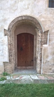 Door, Church, Architecture, Monument, Old, Historical