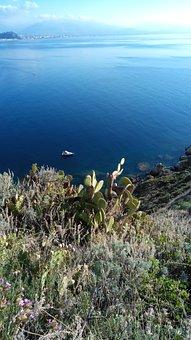 Sicily, Italy, Island, Mediterranean, Sea, Sun
