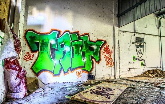 Graffiti, Wall, Art, Creativity, Facade Paint, Sprayer