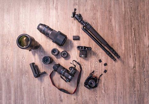 Studio, From Above, Photographic Equipment