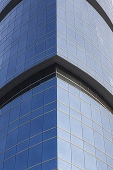 Glass, Building, Office, The Work, Work, Civilization