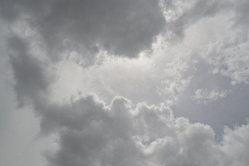 Clouds, Grey Sky, Heavenly, Heaven, Weather, Cloudy