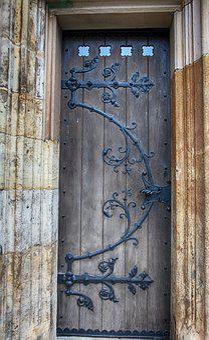 Door, Oak, Old, Input Range, Wooden Door, Old Door