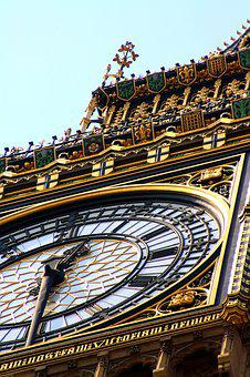Big Ben, England, Landmark, United Kingdom, Clock, Uk