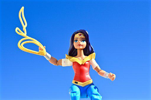Wonder Woman, Superhero, Lasso, Female, Strong