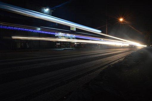 Light, Rail, Cars, Train, Travel, Transportation