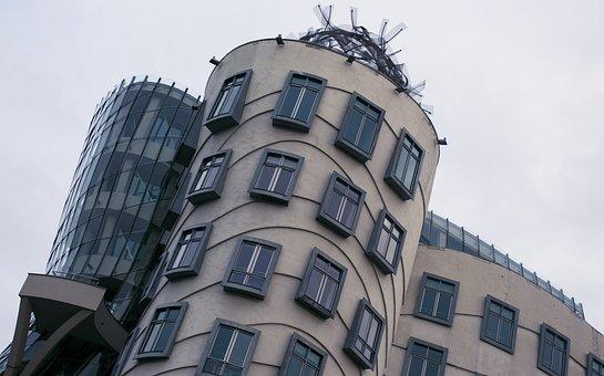 Prague, Dancing House, Architecture, Czech Republic
