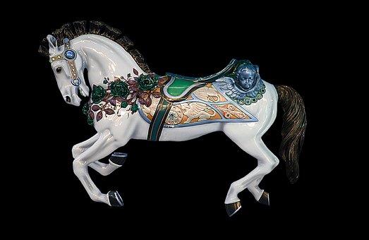 Carousel Horse, Carousel, Horse, Ride, Turn