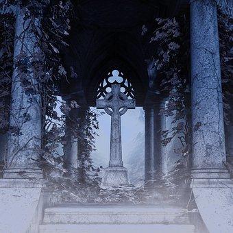 Alter, Sanctum, Steps, Cross