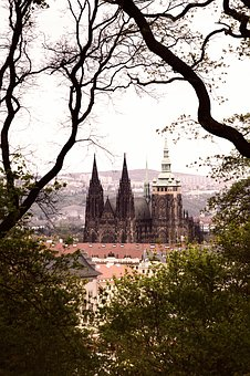 Prague, Prague Castle, Czech Republic, Building, Church