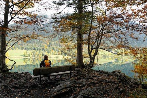 Hintersteinersee Lake, Lake, Kitzbühel, Austria, Nature