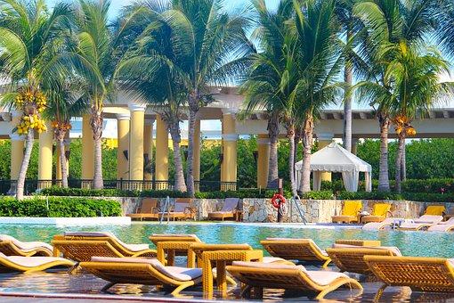 Mexico, Pool, Iberostar Grand Paraiso, Hotel