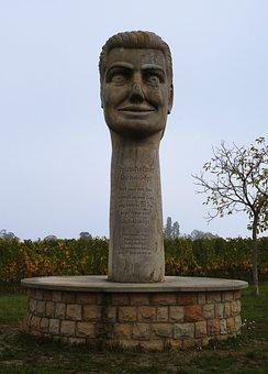 Stoning, Monument, Vineyard, Statue