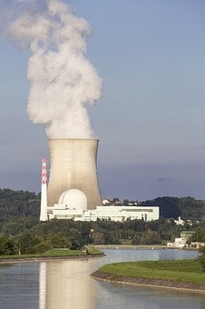 Nuclear Power Plant, Power Plant, Atomic Energy