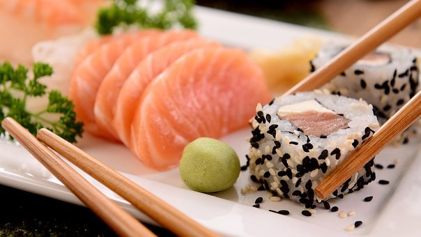 Sushi, Asia, Chinese, Eat, Restaurant, Exotic, Meals