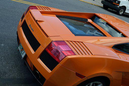 Lamborghini, Tail Light, Fast Car, Race Car, Stock Car