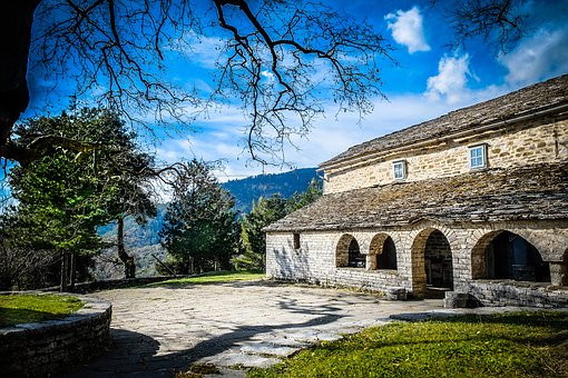 Temple, Church, Stone, Tradition, Monastery, Old
