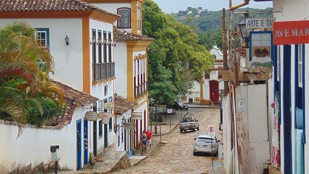 Architecture, Tiradentes, Minas, Street, Trip, Vista