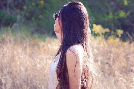 Nature, Woman, Beauty, Landscape, Look, Hair, Beautiful