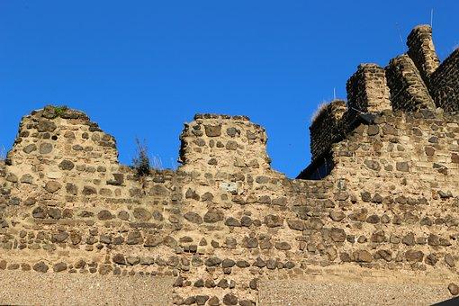 Godesburg, Bonn, Castle, Masonry, Ruin, Viewpoint