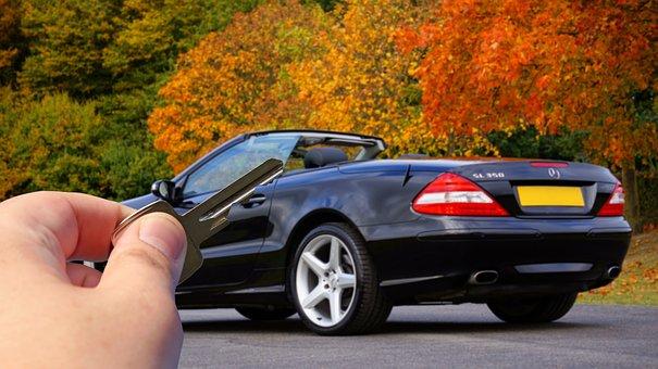 Key, Car Key, Hand, Holding, Car, Auto, Automobile
