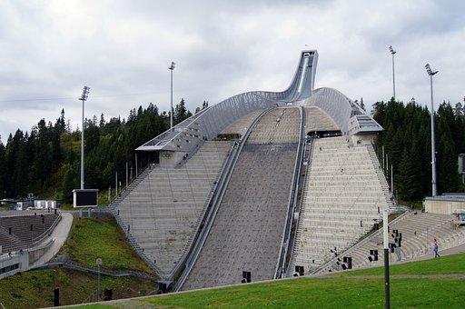 Ski Jumping, Winter Sports, Ski Jump, Holmenkollen