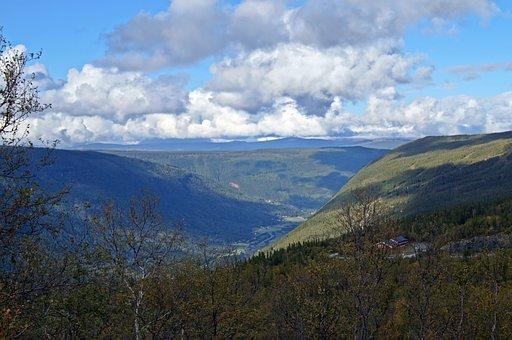 Norway, Rjukan, Mountain, Landscape, Panorama, Outlook