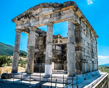 Mausoleum, Ancient Messini, Archaeological Site, Greece