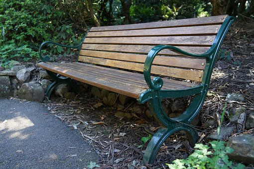 Bench, Public Seating, National Rhododendron Garden