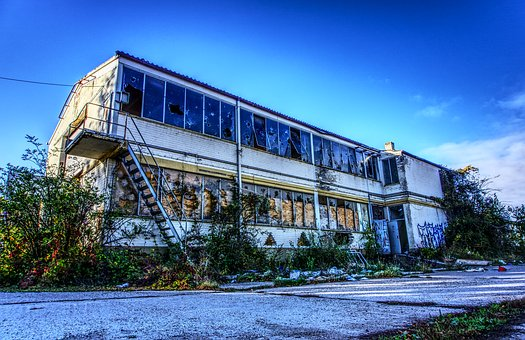 Shipyard, Hall, Leave, Lost Place, Neglected, Broken