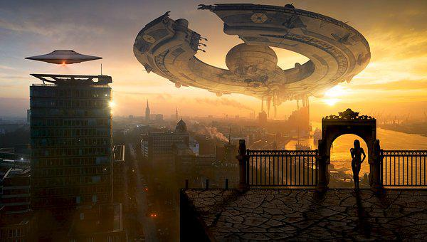 Fantasy, Science Fiction, Forward, Ufo, Spaceship
