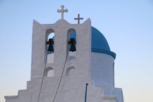Church, Greece, Sifnos, Blue, White, Orthodox