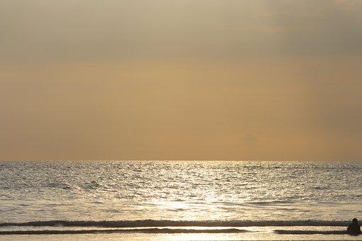 Beach, Sun, Raining, Clouds, Sunny Day, Day