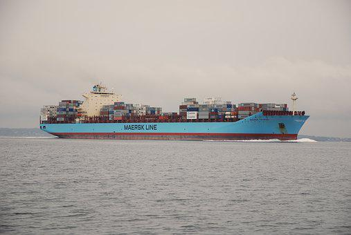 Container Ship, Cargo Ship, Transport, Container