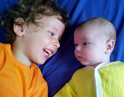 Brothers, Babe, Smiles, Happiness, Family, Baby, Joy